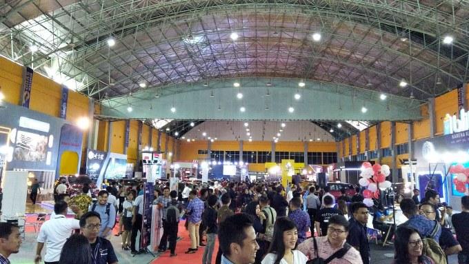 BONE TERKINI - Hadirkan Inovasi Hingga Program Seru, GIIAS Makassar 2019 Jadi Agenda Wajib Pecinta Otomotif