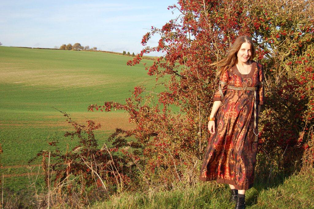 Lincolnshire poet, Jane Air. Photos taken by Luke Belecco 2 Nov 2011 ...
