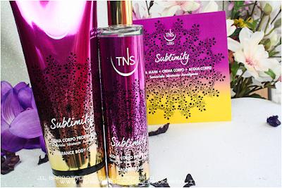 recensione sublimity Tns Cosmetics Crema corpo e acqua profumata