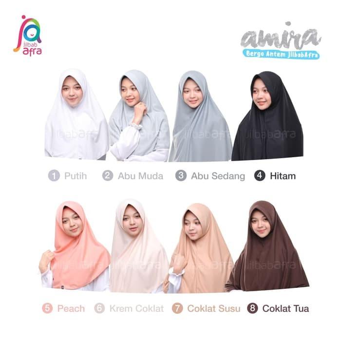 Jilbab Bergo Antem AMIRA by Afra
