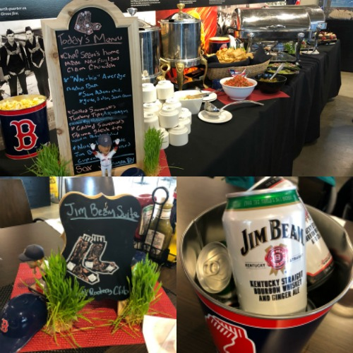 lunch at Fenway Park