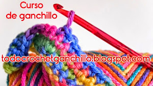 Curso básico de ganchillo o crochet - parte 4 en video