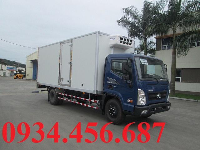 Hyundai EX8 thùng đông lạnh KPI