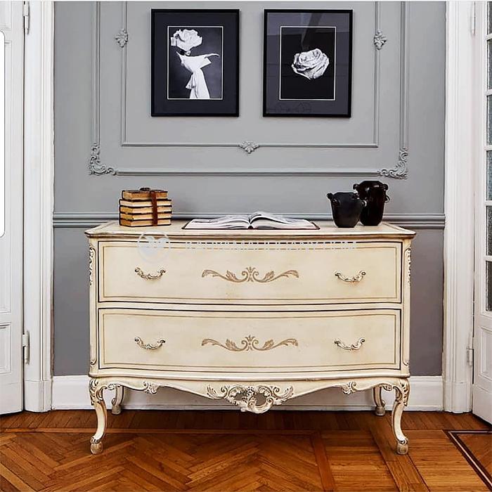 Meja Drawer Luseno Antik | Klasik Eropa