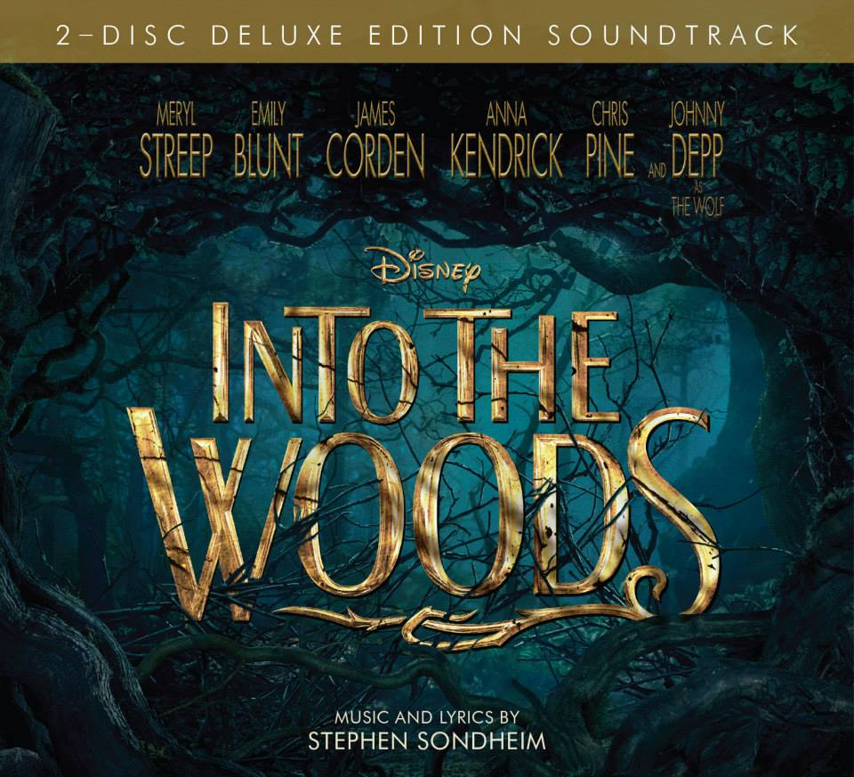 Disney, music, Into the Woods, Meryl Streep
