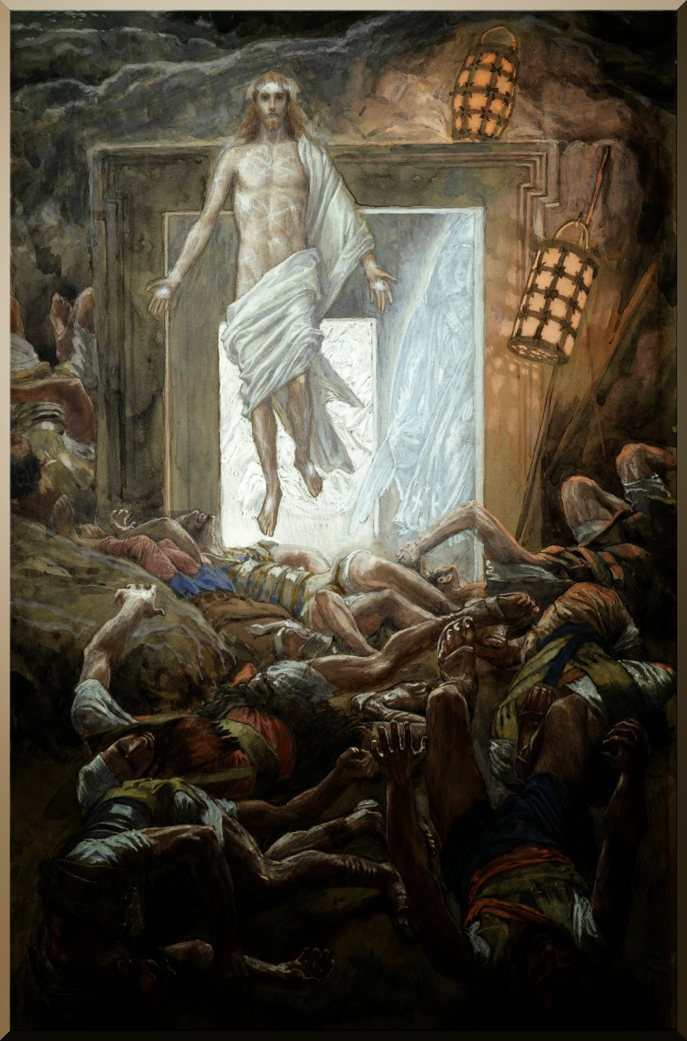 James  Tissot     The  Resurrection
