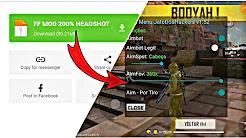 free fire mod menu apk | free fire auto aim headshot, wall hack, esp line | latest vip mod menu |