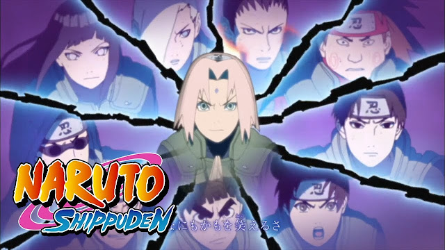 Opening Naruto Shippuden 16: Silhouette