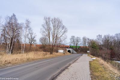 Początek wycieczki, okolice stacji PKP Boguszów-Gorce