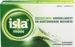 Isla Moos tegen hoest en keelpijn