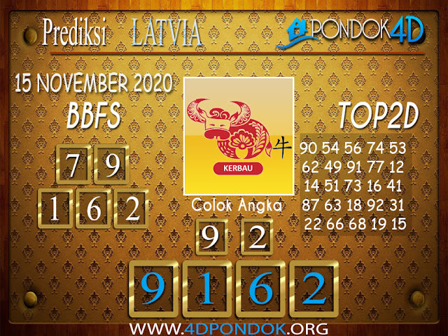 Prediksi Togel LATVIA PONDOK4D 15 NOVEMBER 2020