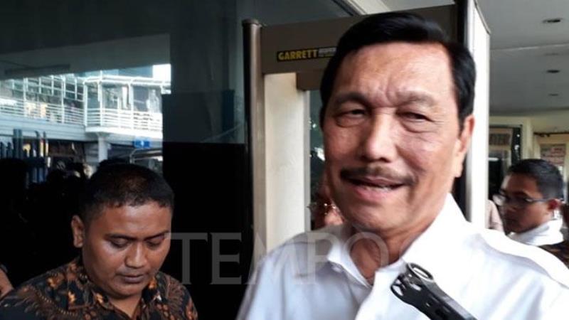 "Jokowi Dihormati Trump, Luhut: ""Demo Ricuh"" Kita Menembaki Kaki Kita Sendiri"