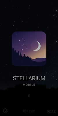 Stellarim Mobile Plus on phone