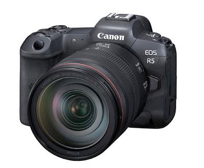 Canon EOS R5 Full-Frame Mirrorless Camera