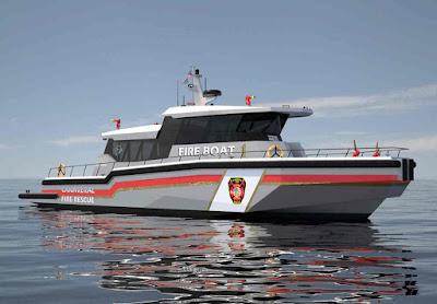 Barco de combate a incendios