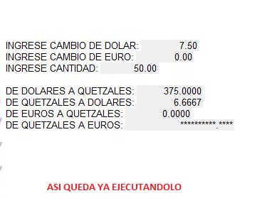 9 5 Say De Dolares A Quetzales Get Dq 10 Qd 11 Euros Eq