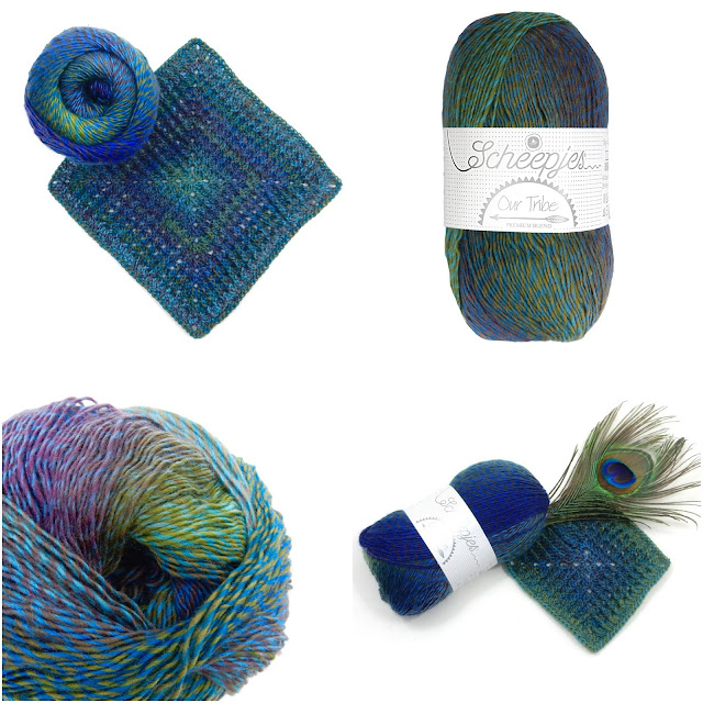 Our Tribe yarn The Curio Crafts Room TheCurioCraftsRoom yarnlove crochet