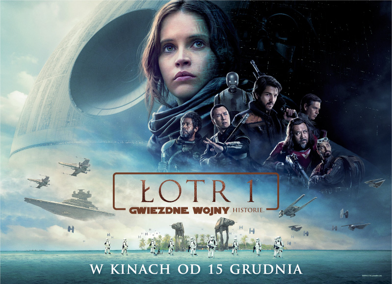 Plakat łotra 1 W Cd Action świat Star Wars