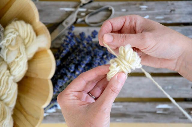 How to Make Homemade Dryer Balls for Lavender Laundry