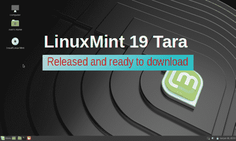 LinuxMint 19 Tara released and ready to download