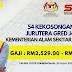 54 Jawatan Kosong Jurutera Gred J41. Gaji RM2,529.00 - RM9,643.00