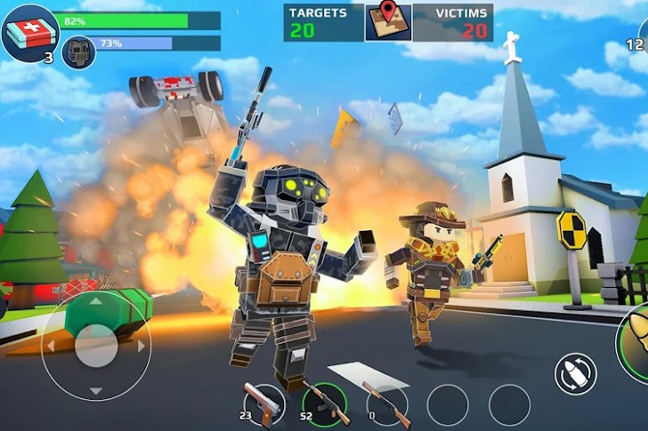 11 Game Perang Minecraft Android Gratis Terbaik 2019