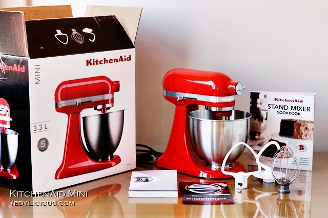 KitchenAid MINI Unboxing, KitchenAid 3.3 L Mini Tilt-Head Stand Mixer Blog Review Price KitchenAid Artisan Mini Attachments Where To Buy Stores KitchenAid Philippines Recipes Using KitchenAid Stand Mixer Best Stand Mixer In The World YedyLicious Manila Food Blog Yedy Calaguas