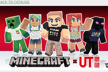 Download Skin Pack Minecraft x Uniqlo Gratis!