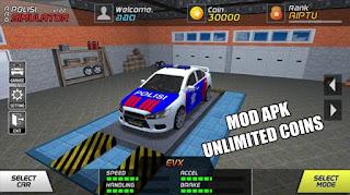 Download AAG Polisi Simulator v1.26 MOD APK Unlimited Coins