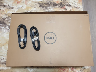 Dell P2421D monitor packaging
