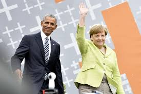 Obama receives rock star welcome in Germany