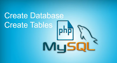 PHP MySQL Create Database and Tables