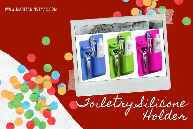 toiletry silicone holder
