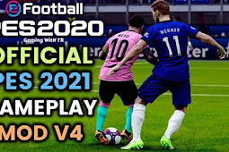 Official PES 2021 Gameplay Mod V4 For - PES 2020