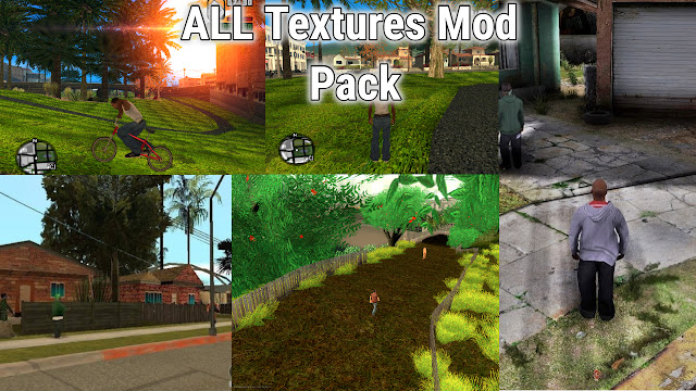GTA San Andreas All New Textures Mod Pack