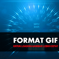 Gambar Format GIF Untuk Kecepatan Loading Super Cepat
