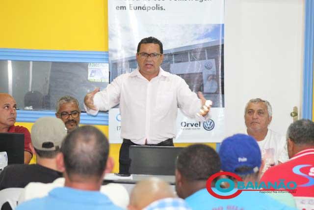 Ex presidente do Sindicato dos taxistas de Porto Seguro está intubado lutando contra Covid-19