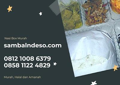 harga nasi box murah di kota Tangerang Selatan