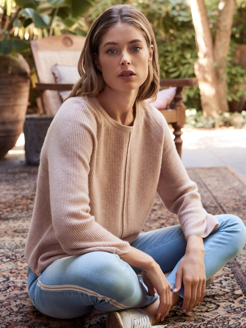 Doutzen Kroes for Repeat Cashmere Spring/Summer 2020 Campaign