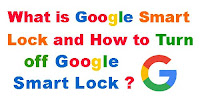 How to turn Off Google Smart Lock?