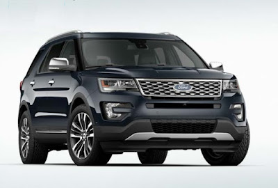 Ford Explorer Power Features and Instrumentations