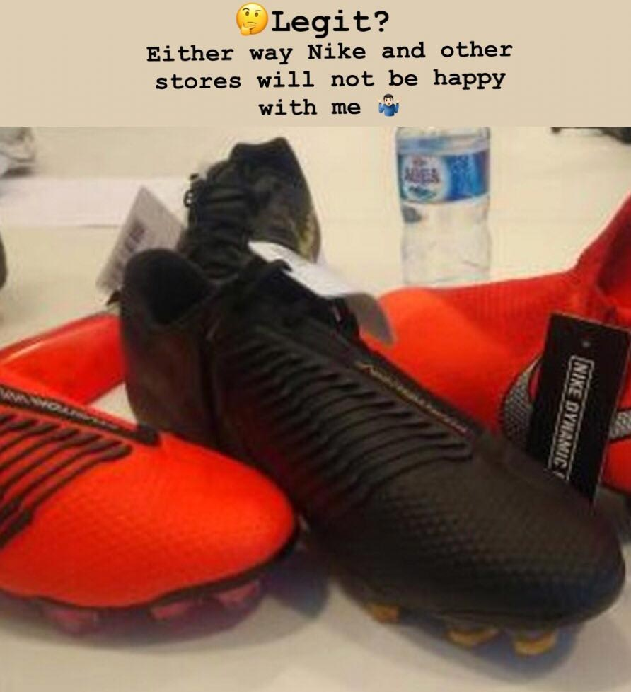 44255160dbce aliexpress red nike mercurial x finale boots released leaked soccer 6c9ea  5323f  closeout from the pictures the sole plate looks to be more or less  the same ...