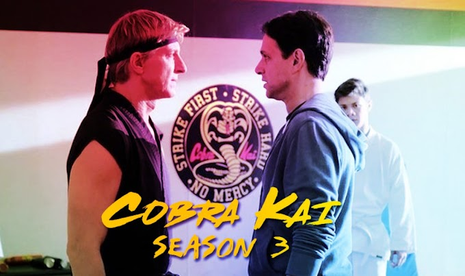 Cobra Kai 3 | Netflix) All Episodes [ Hindi Dubbed English Subtitles ]