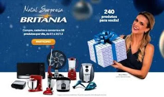 Cadastrar Promoção Britânia Natal 2019 Caixa Surpresa - 240 Produtos Para Você
