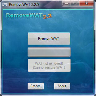 wat remover windows 7