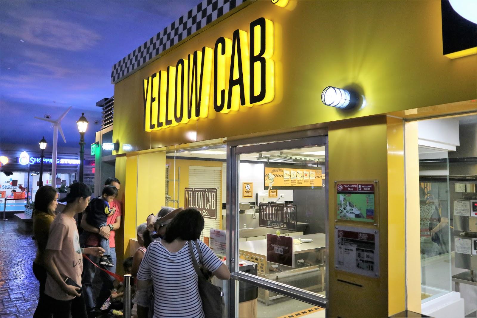 Yellow Cab - KidZania Manila