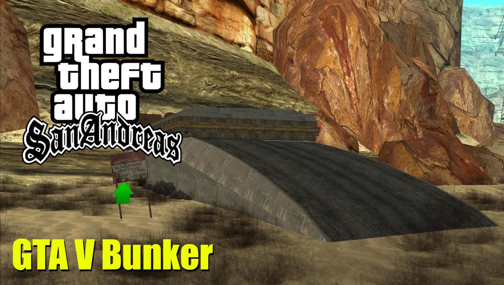 GTA V ONLINE BUNKER Mod For GTA SAN ANDREAS