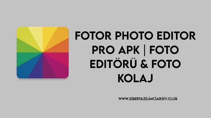 Fotor Photo Editor Pro Apk | Foto Editörü & Foto kolaj