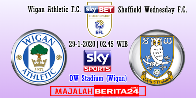 Prediksi Wigan Athletic vs Sheffield Wednesday — 29 Januari 2020