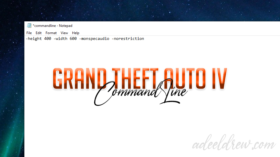 List of all Available Command Lines for Grand Theft Auto IV - GTA 4 CommandLines for PC gta 4 commandline for high end pc gta 4 commandline.txt download gta 4 commandline lag fix gta 4 commandline commands gta 4 commandline for low end pc gta 4 commandline.txt lag fix gta 4 commandline fps boost gta 4 commandline.txt file download gta 4 commandline txt gta 4 commandline resolution gta 4 commandline fix gta 4 command line availablevidmem gta 4 commandline ayarları gta 4 all command line gta iv all command line gta iv commandline txt availablevidmem gta 4 fps arttırma command line commandline gta 4 altos recursos gta 4 grafik ayarları command line gta iv commandline best gta 4 best commandline txt gta 4 best command line gta 4 command line for best performance gta 4 command line fps boost gta iv commandline fps boost gta 4 best commandline for low end pc gta iv fps boost command line gta 4 commandline codes gta 4 commandline chomikuj gta 4 complete edition command line gta 4 episodes from liberty city commandline.txt commandline gta 4 episodes liberty city gta 4 commandline download gta 4 command line doesn't work gta 4 commandline dosyası gta 4 dx9 command line gta 4 best commandline download gta 4 infinite loading screen command line download gta 4 disclaimer screen fix command line download gta 4 commandline for intel hd graphics download gta 4 command line explained gta 4 eflc commandline gta 4 eflc commandline.txt download gta 4 eflc commandline.txt gta iv eflc command line gta 4 command line high end pc gta 4 command line sxstrace.exe gta 4 commandline for medium pc gta 4 commandline frame limit gta iv commandline fix gta iv commandline fps gta 4 commandline gtainside gta 4 command line graphics gta iv command line graphics fix gta iv command line graphics fix download gta 4 high graphics command line gta 4 low graphics command line gta 4 command line for intel hd graphics gta 4 - commandline.txt that fixes graphics settings error gta 4 commandline high settings